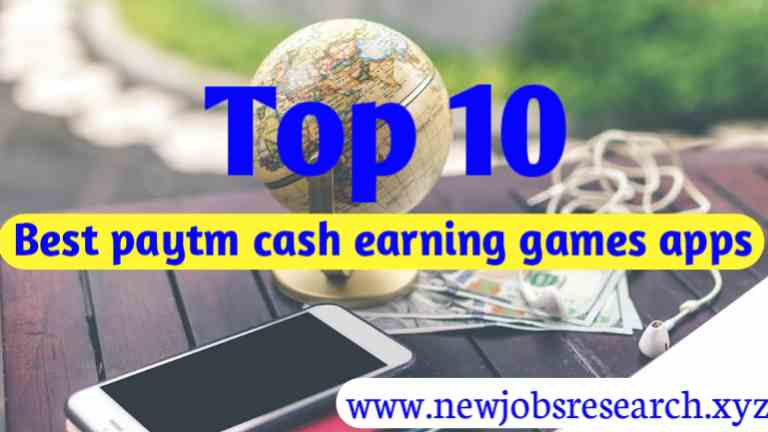Top 10 Best Paytm Earning Apps - 2020