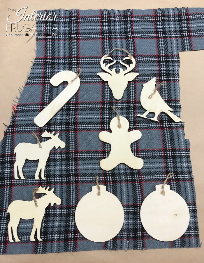 Eco Friendly Holiday Gift Wrap DIY Ornament Tags