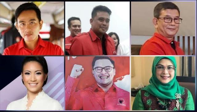 Ini Deretan Keluarga Jokowi-Ma'ruf-Prabowo yang Maju Pilkada 2020