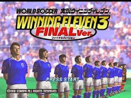تحميل لعبة كرة القدم اليابانية ويننج الفين برابط مباشر ميديا فاير مجانا download winning eleven 3