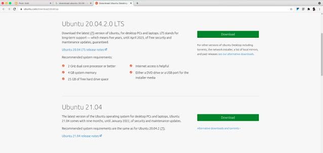 Ubuntu 21.04 Download Link