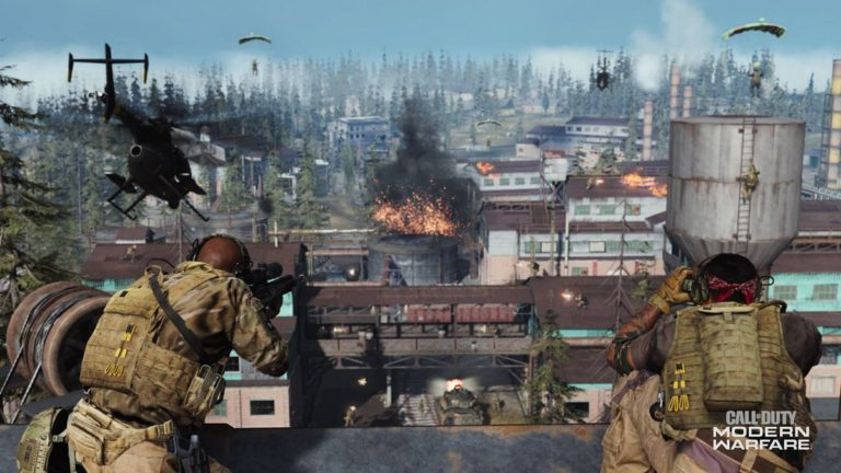 A Call of Duty player accidentally activated third person mode