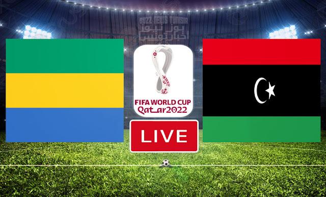 Match Libya vs Gabon Live Streaming FIFA World Cup Qatar 2022 Qualifier