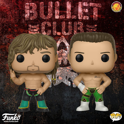 "Bullet Club ""The Elite"" Pop! New Japan Pro Wrestling Series 1 Vinyl Figures by Funko"