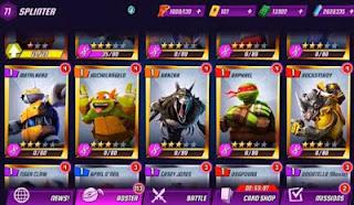 Ninja Turtles Legends v 1.6.16 Mod Apk (Mod Money)