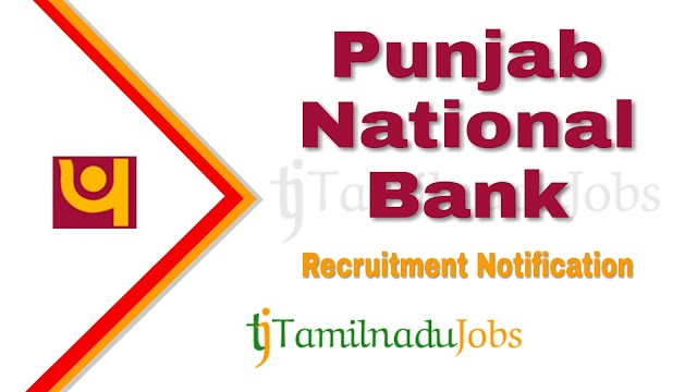 PNB Recruitment notification of 2020 - for Specialist Officers - 535 post