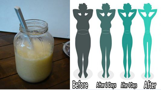 The Magic Potion That Melts Weight Overnight And It Is VERY HEALTHY
