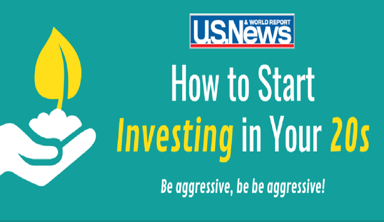 How to Start Investing in Your 20s #infographic