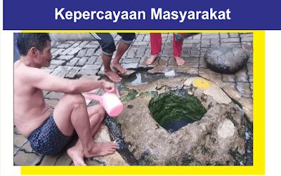 Air Batu Kuwung Dipercaya bisa mengobati berbagai penyakit
