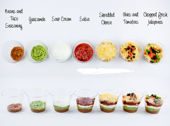 Easy Cinco De Mayo Dippers Snacks for Party Food