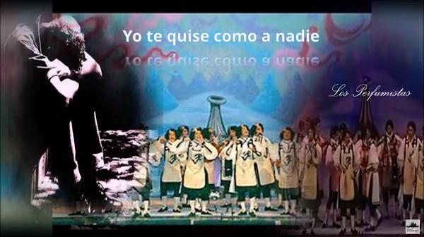 """Pasodoble con Letra """"Yo te quise como a nadie"""". Comparsa """"Los Perfumistas"""" (2008)"""
