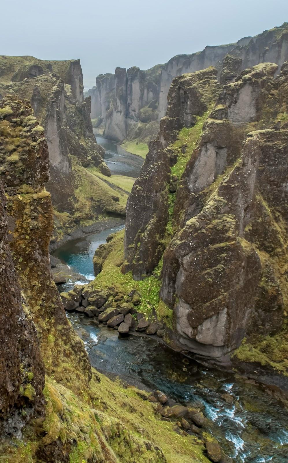 Fjaðrárgljúfur Islande Roadtrip