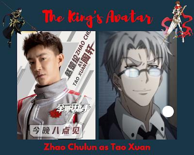 Zhao Chulun as Tao Xuan