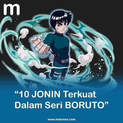 10 Jonin Terkuat Dalam Seri Boruto