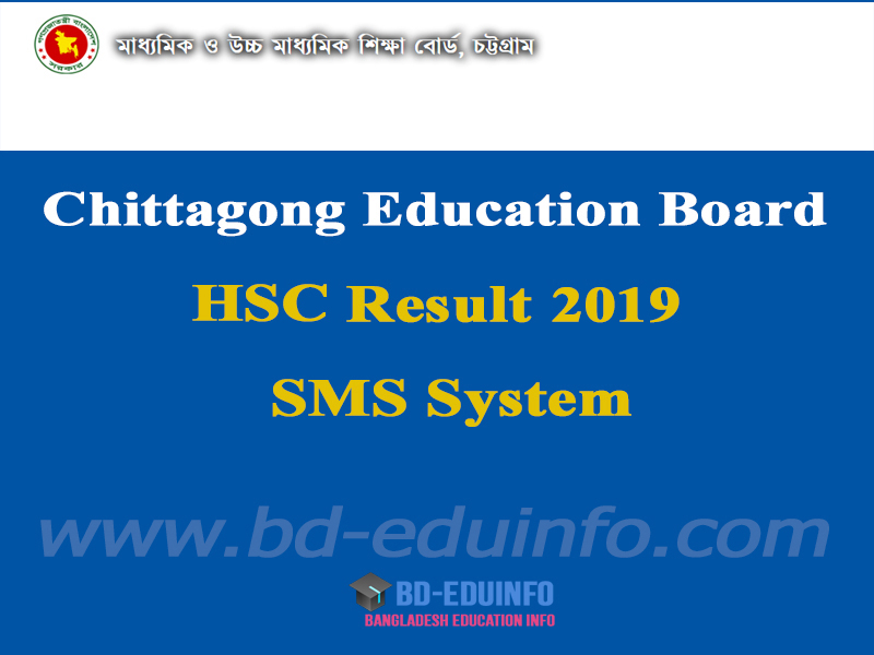 Chittagong Board HSC Exam Result 2019