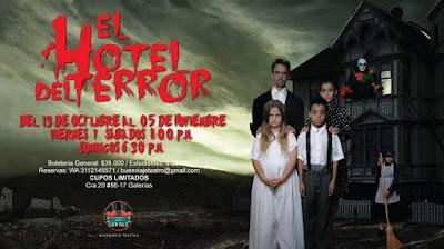 EL HOTEL DEL TERROR (Teatro) 1