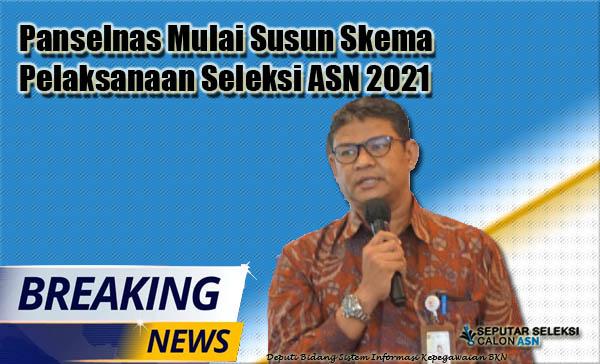 Panselnas Mulai Susun Skema Pelaksanaan Seleksi ASN 2021