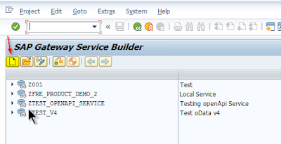 SAP ABAP Central: How to create an openApi Rest Service from