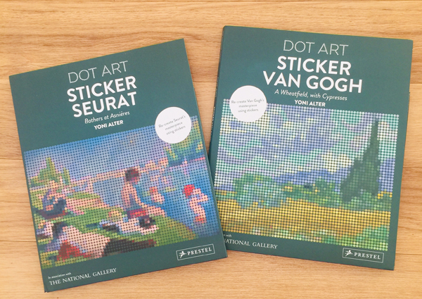 Wonderful Christmas Gifts this year with Dot Art Sticker Books