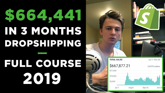 The Ultimate Shopify Dropshipping course 2019!