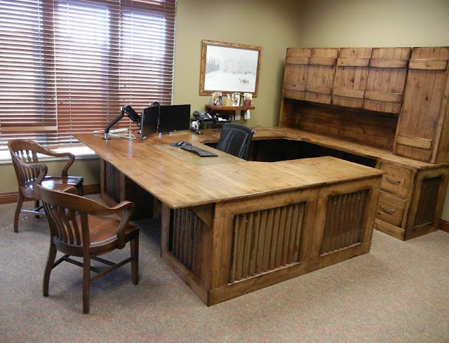 best buying rustic office desk plans for sale