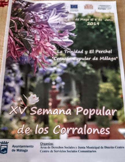 XV Semana Popular de los Corralones de la Trinidad y el Perchel