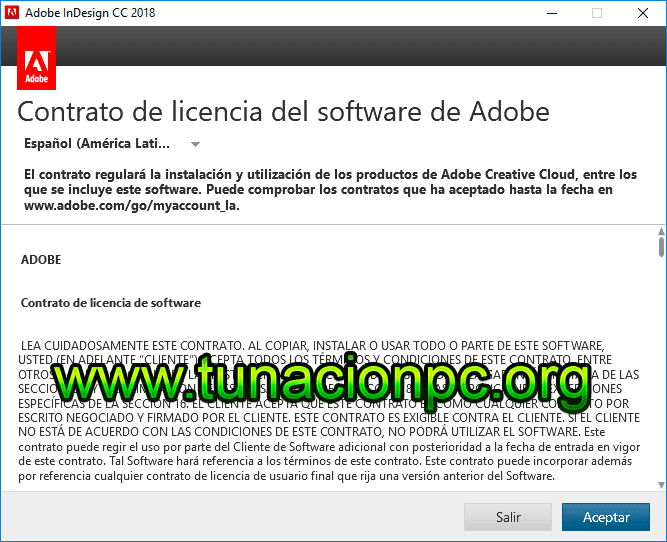 Adobe InDesign CC 2018 Final Multilenguaje Imagen