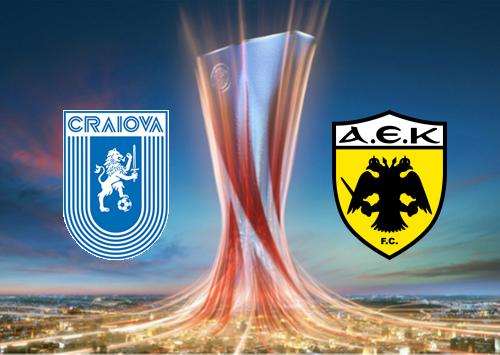 Universitatea Craiova vs AEK Athens -Highlights 8 August 2019