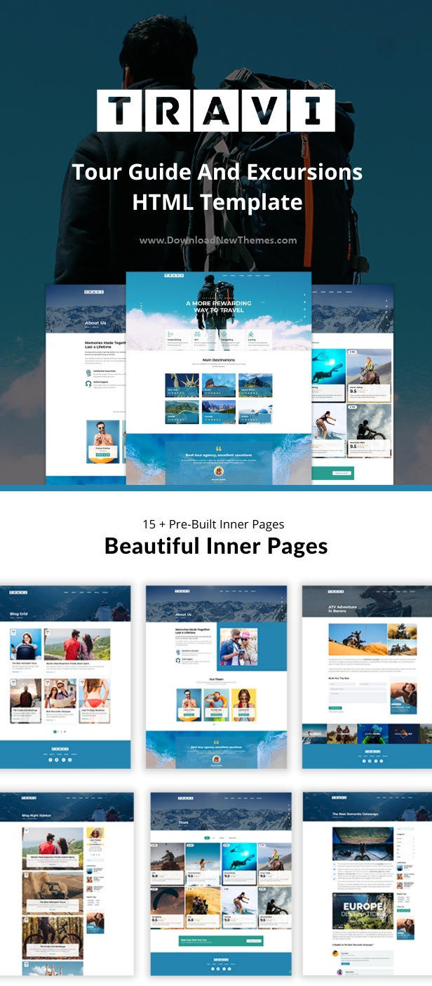Tour Guide And Excursions HTML Template