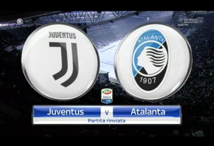 Juventus-Atalanta Streaming: la partita è stata rinviata a causa della neve