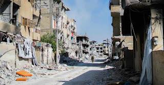 Raqqa devastated
