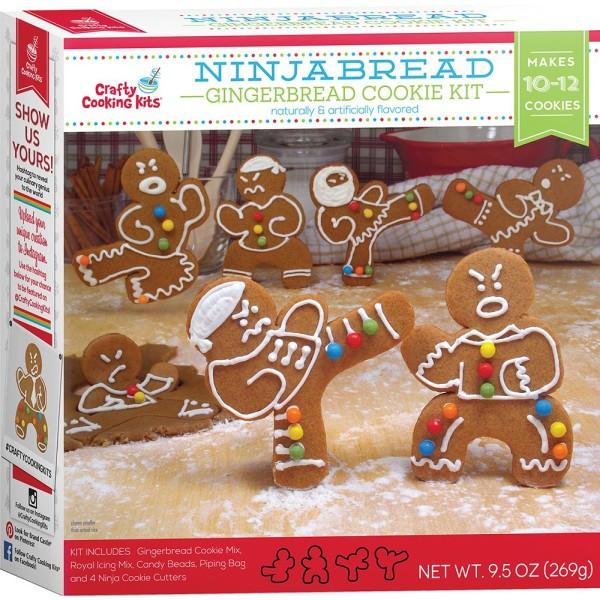 Llegan las galletas de gengibre ninjas para estas navidades