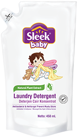 sleek baby sabun cair pakaian bayi