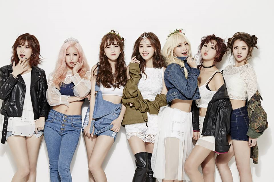 Rainbow Korean Girl Group