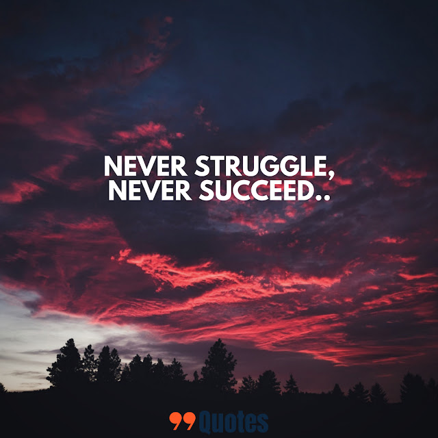 quotes on struggle and success