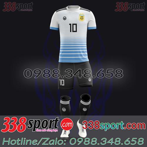 Áo Đội Tuyển Argentina Đặt May Theo Yêu Cầu - Mã AGRENTINA 05