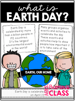 This pack contains information and activities about what the earth gives us, what humans do to the earth, and how your students can join in and do their part to help make the world a cleaner, healthier place to live. #earthday #earthdayactivities #1stgrade #2ndgrade