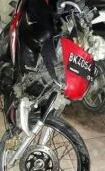 Sepedamotor milik korban.