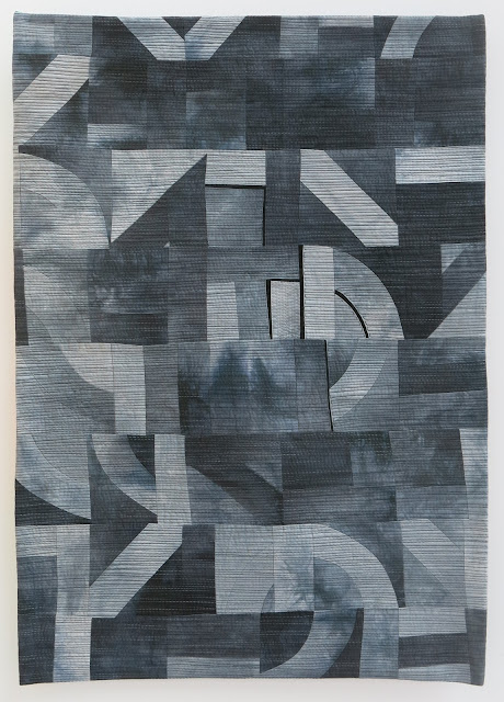 Quilts exhibitions - Karlsruhe Nadelwelt 2017 - Monochrom by Ramona Conconi