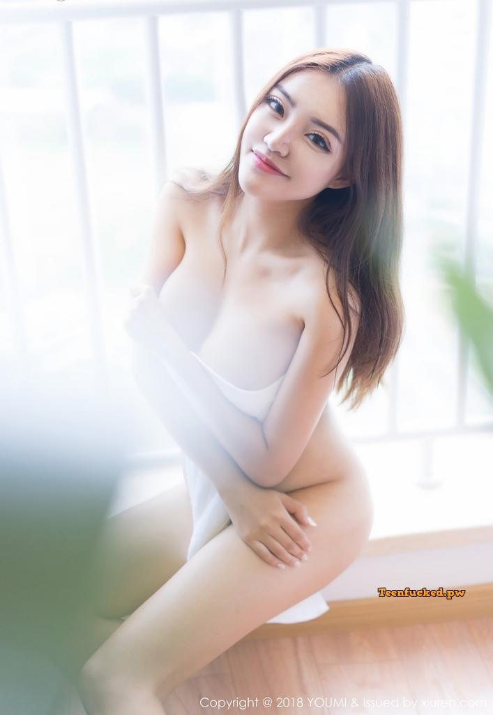 YouMi Vol.232 MrCong.com 026 wm - YouMi Vol.232: Người mẫu 拉菲妹妹 (45 ảnh)