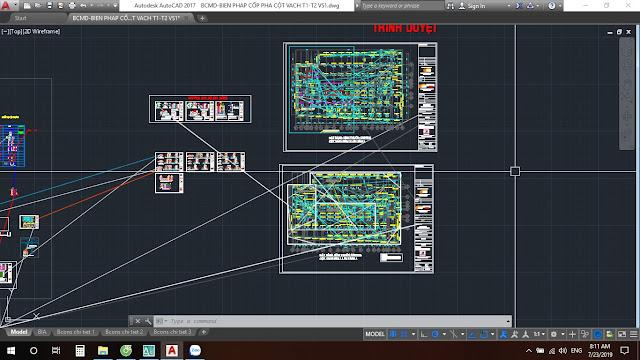 file bản vẻ hiện các sọc chéo toàn màn hình