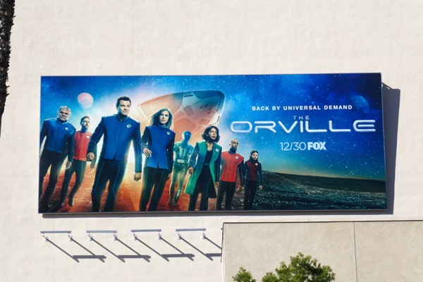 The Orville season 2 billboard