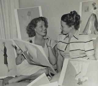 Irene Lentz Jeanette MacDonald