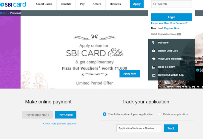 SBI credit Card | How to Apply SBI Credit Card Online