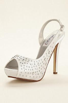 Zapatos blancos de dama