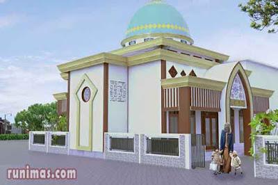 doa masuk dan keluar masjid mushola