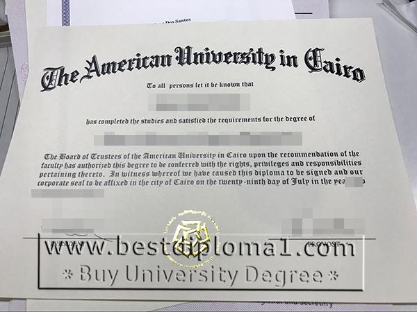 buy a AUC certificate