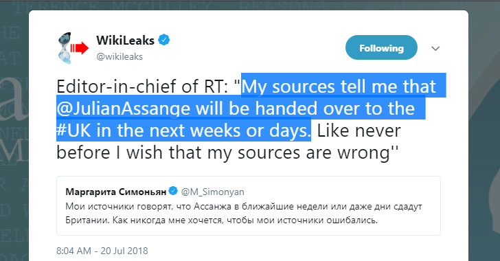 wikileaks julian assange ecuador asylum
