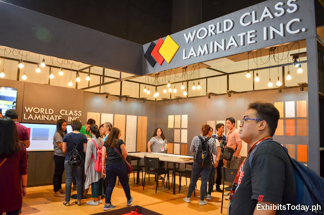 World Class Laminate Inc trade show display