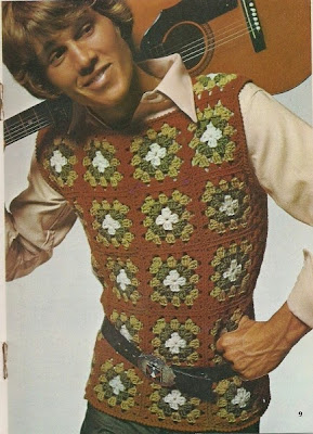 crochet trend from the 60's